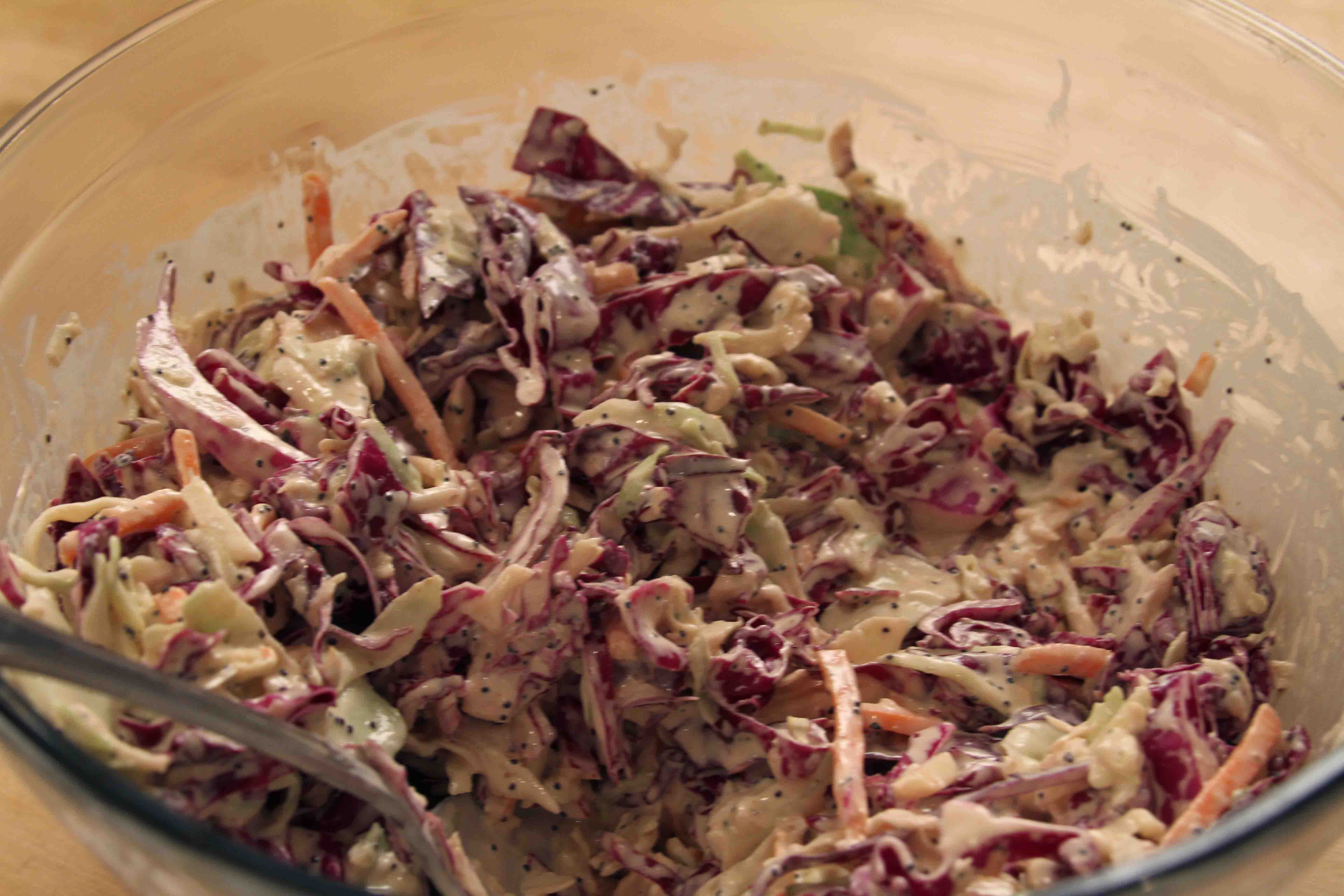 Ann Hollowell Makes Tangy, Creamy Cole Slaw on The Cooking Lady