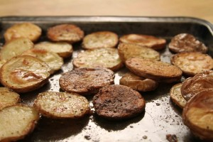 Ann Hollowell's Roasted New Potatoes from The Cooking Lady